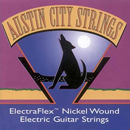 Austin City Strings Guitarra eléctrica (010 – 046 Ace de 10