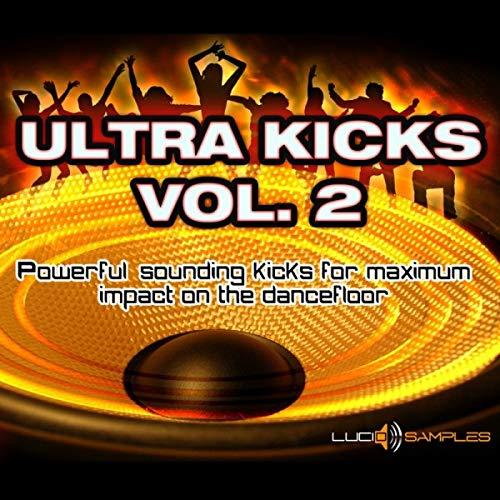 Ultra Kicks Vol. 2 - Kick Samples for House, Dance, Techno Tracks AIFF (24bit) + REX2 Loops DVD non BOX ()