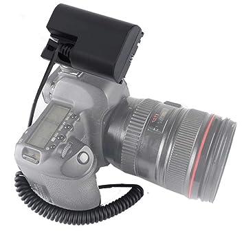 Mugast DR-E6 LP-E6 - Batería Externa para cámara Canon 5D2 ...