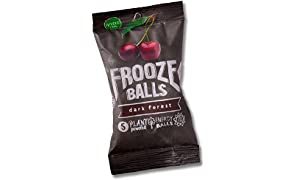 Frooze Balls Dark Forest (8 packets). Plant-powered clean energy! | Gluten Free | Vegan | Non GMO