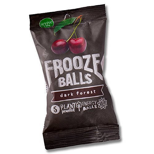 Frooze Balls Dark Forest (8 packets). Plant-powered clean energy!   Gluten Free   Vegan   Non GMO ()