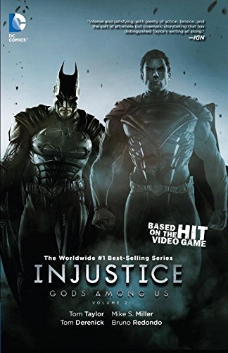 Injustice Gods Among Us Book Series