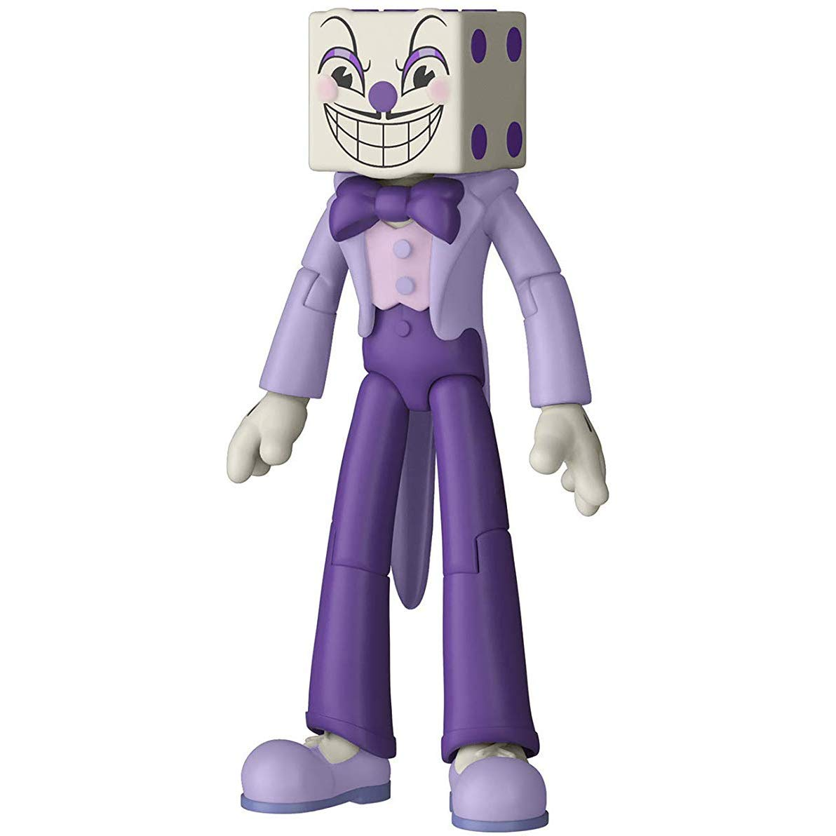 Amazon.com: King Dice: Funko Cuphead x Mini Action Figure + 1 Video Games Themed Trading Card Bundle [33422]: Toys & Games