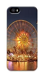 iPhone 5s Case, iPhone 5s Cases - Romantic Ferris wheel Custom Design iPhone 5s Case Cover - Polycarbonate