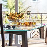 Tealyra - Large Glass Carafe 56-ounce - Drip-free
