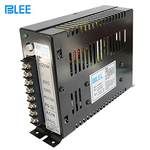 BLEE 16A Switching Power Supply Box for Arcade Jamma Multi Games Machines (5V 16A / 12V 4A ) ()