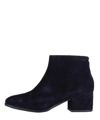 Vagabond Bleu Bottes Boots Femme Blue Pour Dk Scamosciati Daisy rRwSr