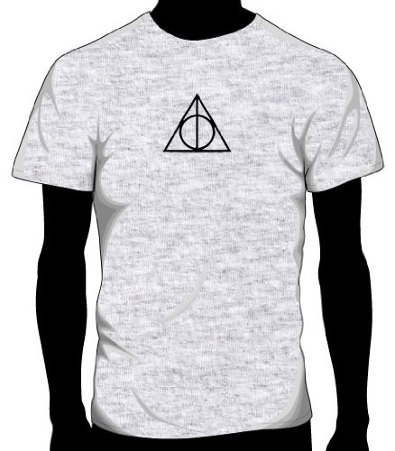 Harry Potter Deathly Hallows Logo T-Shirt