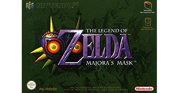 Amazon com: The Legend of Zelda: Majora's Mask - Nintendo 64
