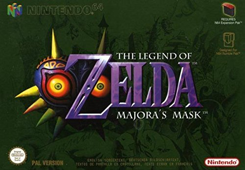 The Legend Of Zelda Majora S Mask N64 - The Legend of Zelda: Majora's Mask - Nintendo 64