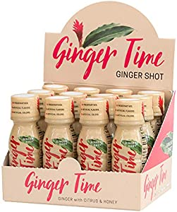 Sweepstakes: Ginger Time Ginger Shots (12 Pack) – Ginger with Citrus…