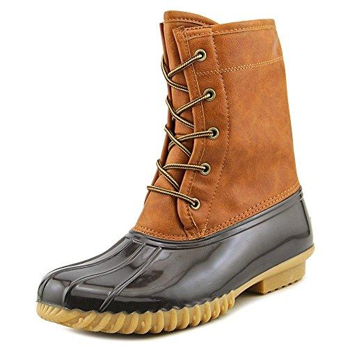 Original Duck - The Original Duck Boot Womens Arianna Round Toe Rainboots, Tan, Size 8.5