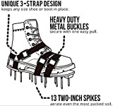Wistar Lawn Aerator Shoes Metal Buckles and 3