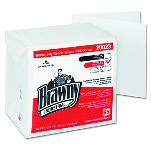 GP Brawny Professional D400 Disposable Cleaning Towel, 1/4-Fold, - Eyeglasses Online Fast