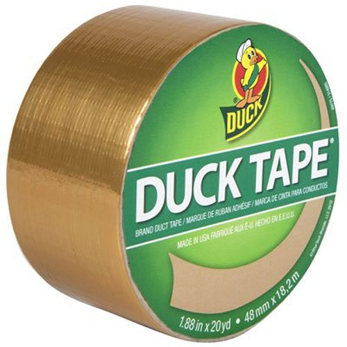 SHURTECH BRANDS 240127 1.88 by 10YD Duct Tape, (Gold Duct Tape)