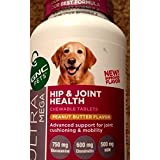 GNC Pets Ultra Mega Hip & Joint Health Peanut Butter Flavor 60 Chewable Tablets