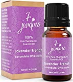 7 Jardins French Lavender Essential Oil 100% Pure Therapeutic Grade. No Fillers, NO Dilution For Aromatherapy, Massage, Diffuser. 10 ml