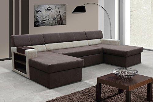 Wohnlandschaft Markos Eckcouch Ecksofa Sofa Couch Mit Bettfunktion