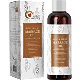 Muscle Pain Massage Oil - Muscle and Joint Pain Relief - Anti Cellulite Massage Oil for Men and Women - Aromatherapy...