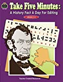 Take Five Minutes: A History Fact a Day for Editing: A History Fact a Day for Editing (Take Five Minutes (Teacher Created Resources))