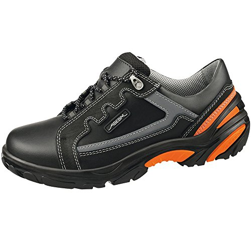 Abeba 4633-45 Crawler zapatillas de seguridad baja, Tamaño 45, color negro