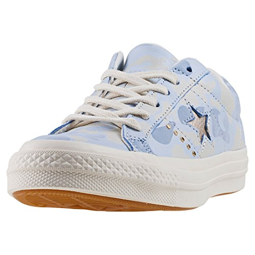 Converse One Star Ox Womens Trainers Pastel Blue - 7 UK