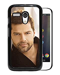 Unique Designed Cover Case For Motorola Moto G With He Ricky Martin Music Artist Singer Celebrity Phone Case