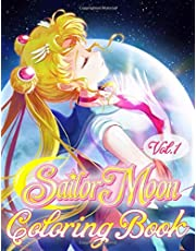 Sailor Moon Coloring Book: Sailor Moon Jumbo Coloring Book for All Ages - Vol 1