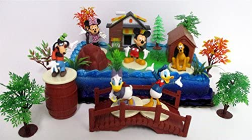 Groovy Mickey Mouse Clubhouse Birthday Cake Topper Featuring Mickey Mouse Funny Birthday Cards Online Overcheapnameinfo