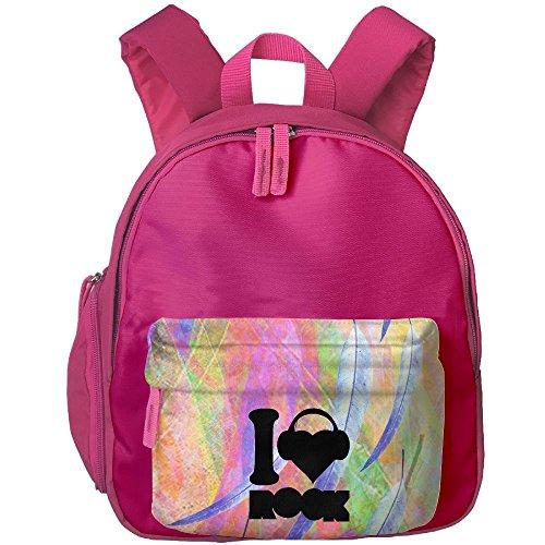Unisex Baby Kid I Love Rook Preschool Bag Backpack Satchel Rucksack Handbag (Japanese School Girl Costume Diy)