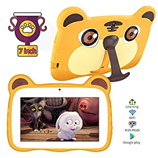 Kids Tablets,7inch Kids Edition Tablets for Kids 2G+16G Android 9.0 Quad Core Kids Tablets with WiFi Parental Control,40+Learning & Training Apps,Protect Kids Eyes