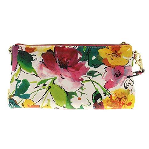 Convertible Floral Stella Handbag Small Multi Crossbody Print Max amp; Womens tXxvxqa