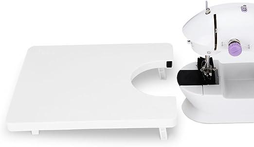 OAKOME Mesa de Ampliación para Máquinas de Coser,Tabla de Extensión Extra Anchos,Mesa de Extensión para Máquina de Cortar Telas(Blanco): Amazon.es: Hogar
