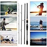 CLKjdz Portable Super-Hard Tune High-Carbon Long Shot Lure Rod Sea Rod Fish Pole
