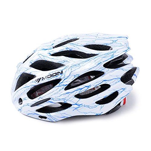 YXINY Casques 12H20 Cycle Bike Helmet 27 Air Vents Allround Casques Hommes et Femmes 260g M / L 8 Couleurs En Option ( Couleur : 02 , taille : M )