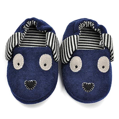 Pictures of Estamico Toddler Boys Doggy Slippers Cartoon Puppy 2