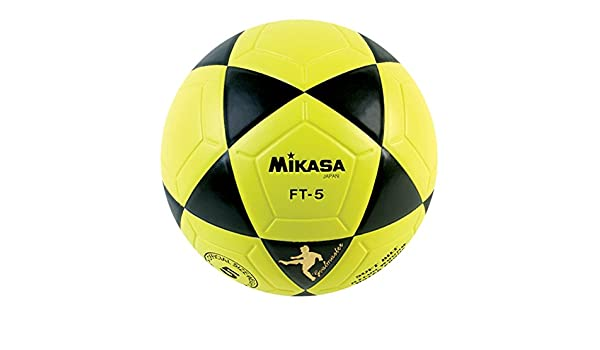 adidas Mikasa FT5 Maestro De Meta Balón De Fútbol (Amarillo/Negro ...