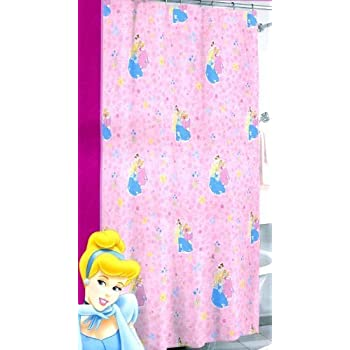 Disney Princess Vinyl Shower Curtain 70 In X 72 Cinderella Snow