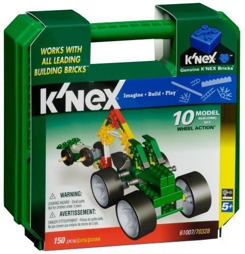 K Nex Wheel Aktion 10 Model Building Set- 154 Stück