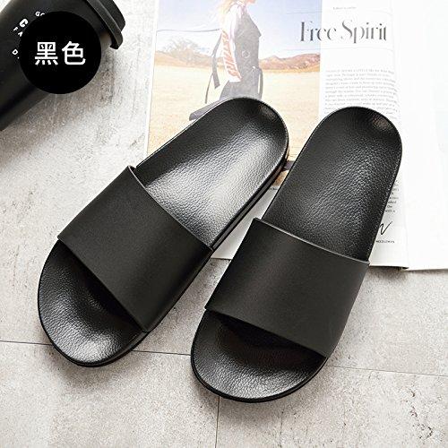 37 anti bagno pantofole fuori nero al spessore slittamento di bagno di uomini cool casa dell'interno sandali nbsp;Estate Fankou della wTqpHw