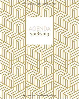 Amazon.com: Agenda 2018-2019: Agenda súper bonita con frases ...