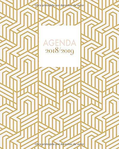 Agenda 2018-2019: Agenda súper bonita con frases, semanal y ...