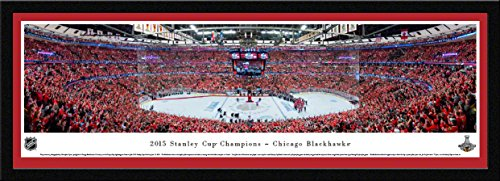 2015 Stanley Cup Champions - Chicago Blackhawks - Blakeway Panoramas NHL Posters with Select Frame ()