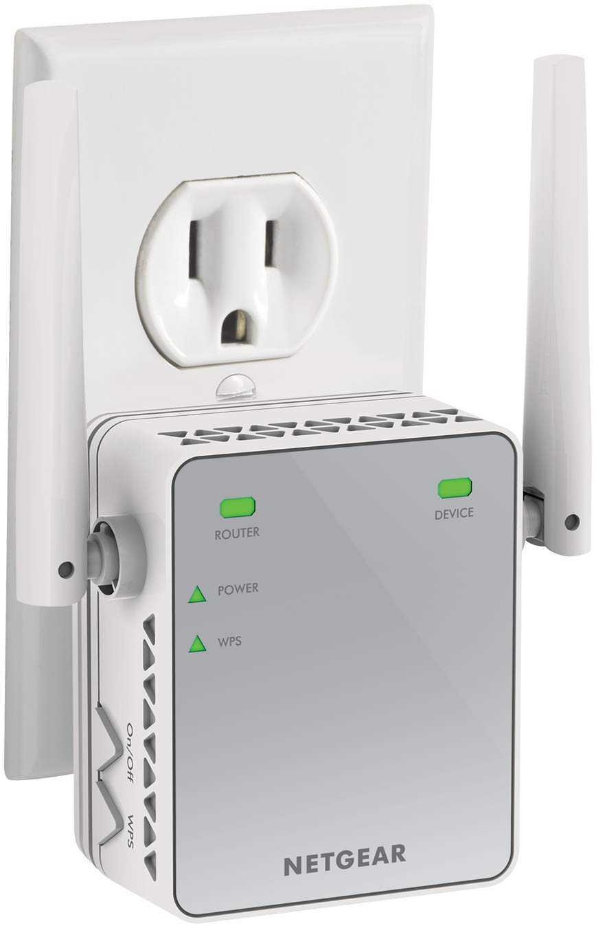 NETGEAR WiFi Range Extender N300 | WiFi coverage up to 300 Mbps (EX2700)