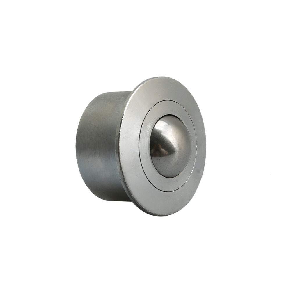 BQLZR 22mm Diameter Ball Metal Transfer Bearing Unit Conveyor Roller Universal Base Bearings