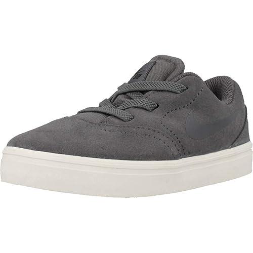 sports shoes 6d788 d2b15 Nike SB Check Suede (TD), Chaussures de Skateboard Mixte Enfant,  Multicolore Dark