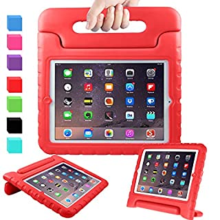 "AVAWO Kids Case for 9.7"" iPad 2 3 4 (Old Model) - Light Weight Shock Proof Convertible Handle Stand Kids Friendly for iPad 2, iPad 3rd Generation, iPad 4th Generation Tablet - Red"