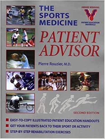 Book The Sports Medicine Patient Advisor by Pierre Rouzier (2004-04-24)