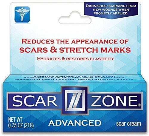 Scar Zone Advanced Skin Care Scar Cream 0.75 oz (Pack of 4)