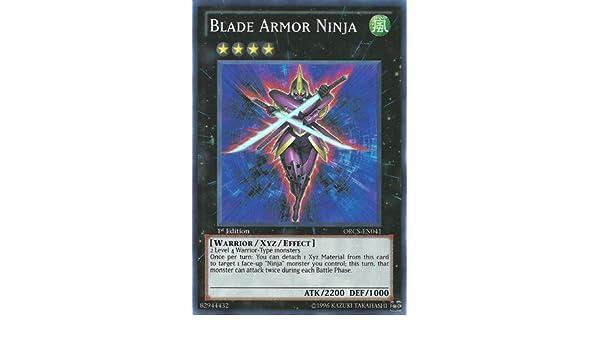 Yu-Gi-Oh! - Blade Armor Ninja (ORCS-EN041) - Order of Chaos ...